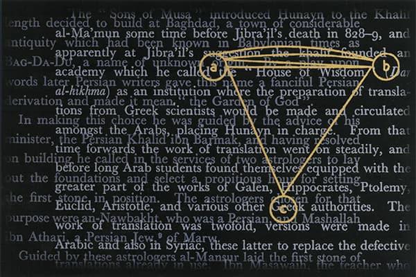 """""""The Circuit of Translation"""" (2003), Iftikhar Dadi and Elizabeth Dadi"""